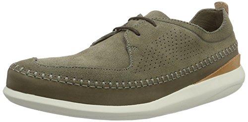 clarks-originals-mens-pitman-free-low-top-sneakers-green-khaki-suede-6-uk