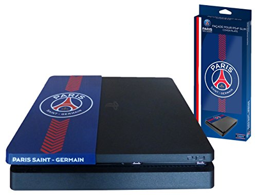 Subsonic – Façade (coque de personnalisation) pour PS4 Slim – Faceplate de customisation pour Playstation 4 Slim – Licence officielle PSG Paris Saint Germain
