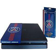 Subsonic - Façade (coque de personnalisation) pour PS4 Slim - Faceplate de customisation pour Playstation 4 Slim - Licence officielle PSG Paris Saint Germain