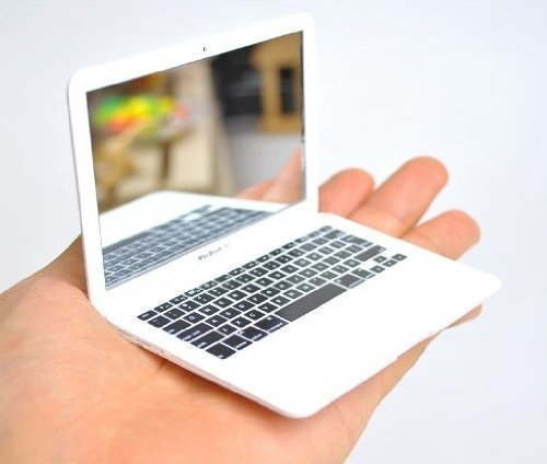 tgo-miroir-de-poche-design-apple-macbook-air-de-poche-blanc