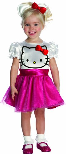 Rubie's 3 884752 T - Hello Kitty Kostüm, Größe 1 - 2 (Kostüm Hello Kitty)