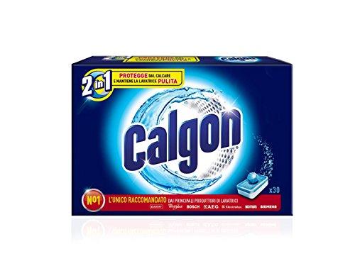 CALGON CALGON 2 1-30 TABS (450 G) EN TABLETAS LAVADORA DE DESCASCARILLADO