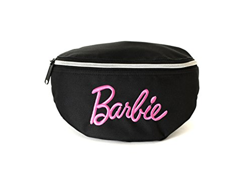 Spiral Classic Barbie Black Bum Bag Sac Banane Sport, 24 cm, 3 liters, Noir (Black)