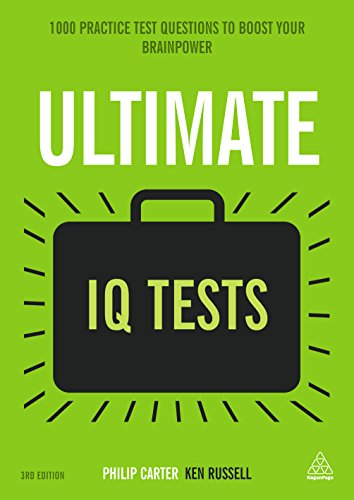 Ultimate IQ Tests: 1000 Practice Test Questions to Boost Your Brainpower (Ultimate Series) (English Edition)