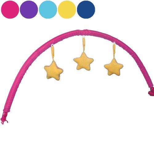Infantastic Baby Spielbogen mit Sternen passend zu Infantastic Kinderreisebetten (KRB03), pink