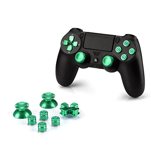 okcsr-sony-playstation-4-dualshock-4-controller-aluminium-buttons-pieza-de-repuesto-thumbsticks-tecl
