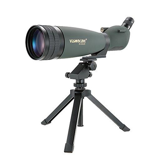 Docooler 30-90X90 Gewinkelt Spektiv Wasserdicht/HD Monocular Teleskop mit Stativ Beweglicher