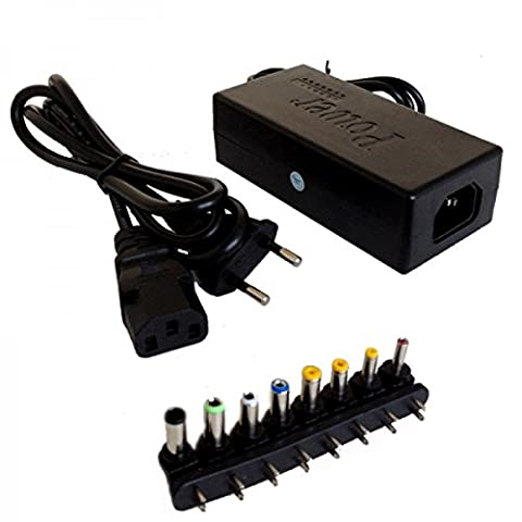 Chargeur adaptateur Universel PC différent embouts (asus, toshiba, Samsung, Packard bell, etc) @Mobitech Pro