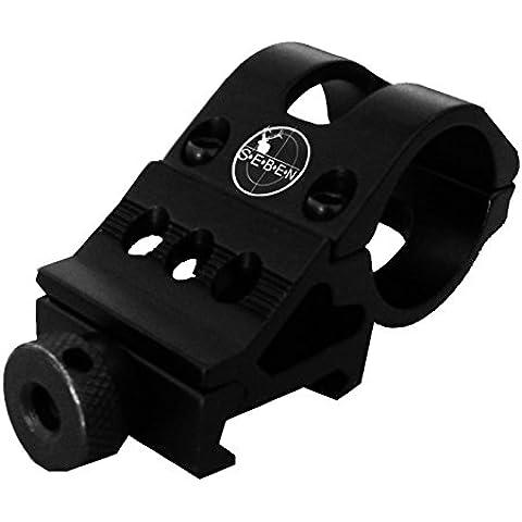 Seben Montura 45° Accesorios Mira Telescópica 30mm / 21mm Weaver Picatinny RSM09