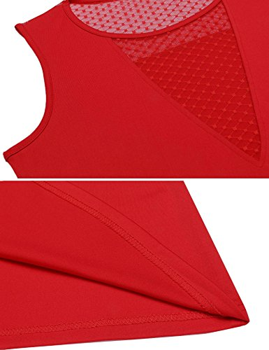 Tops Damen Tank Armlos Shirt V-Ausschnitt Bluse Rückenfrei Rückenfrei Tunika sexy Oberteil in 3 Frabe Weinrot