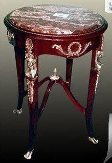 Table baroque table d'appoint de style antique Louis XV MoTa0364 #
