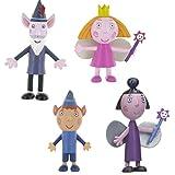 LOTE 4 FIGURAS Comansi Benn & Holly - Princesa Holly - Ben Elfo - Viejo Sabio - Nanny