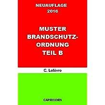 betriebliches notfallmanagement muster brandschutzordnung teil b - Brandschutzordnung Muster