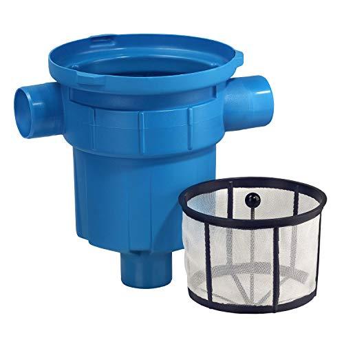 Regenwasserfilter Zisternenfilter 3P Gartenfilter GF mit Kunststoffsieb für den Einbau in die Zisterne oder Kunststoffzisterne, Anschluss DN100, Höhenversatz 0 cm. Für die Regenwassernutzung im Garten