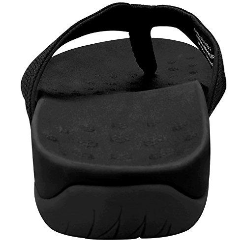 quality design f2492 d952a Sessom&Co infradito da donna, ciabatte in gomma, comodi sandali ortopedici