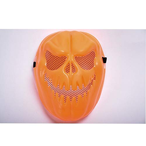 SCLMJ Halloween Party Maske Kreative Böse Kürbis Modellierung Maske Festival Scary Requisiten (Maske Scary Kürbis)