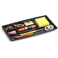 CEP - Bandeja organizadora para cajón (7 compartimentos), color negro