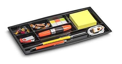 CEP Organisateur de tiroir 149/4 R 34,4 x 18 x 2 cm Noir