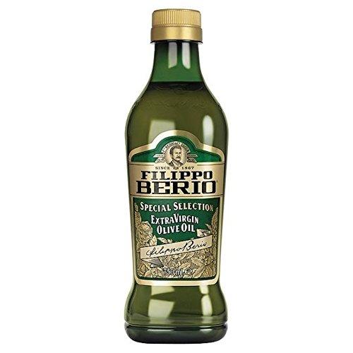 Filippo Berio Sélection Spéciale D'Olive Extra Vierge Huile - Bouteille En Verre De 750Ml - Paquet de 6