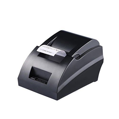 OCDAY Portatile POS Stampante Termica Ricevuta 58mm Thermal Dot Receipt Stampanti