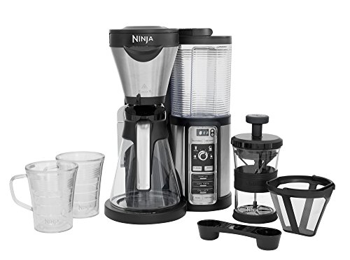 Ninja Coffee Bar Auto-iQ Brewer mit Glaskaraffe - CF060EU -