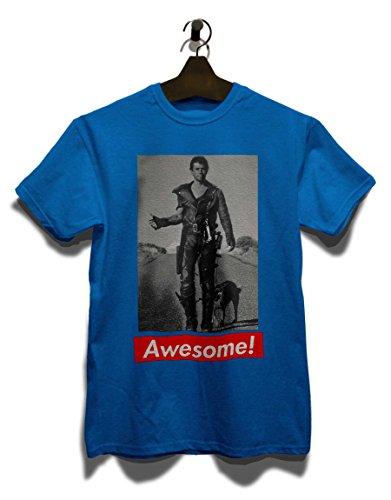 Awesome 48 T-Shirt Royal Blau
