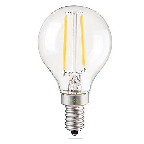 Luxon 2w LED Lighting Bulbs Globe G45 Filament Golf Ball