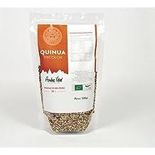 Quinoa ecologica organica tricolor 1kg, pack 2 bolsas x 500gr