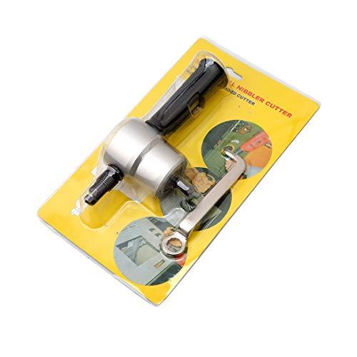 Jixing Doppelkopf Nibble Metall Cutter Platte Schneiden Nibbler Cutter Werkzeuge Bit Bohrer Befestigung Freies Schneidwerkzeug