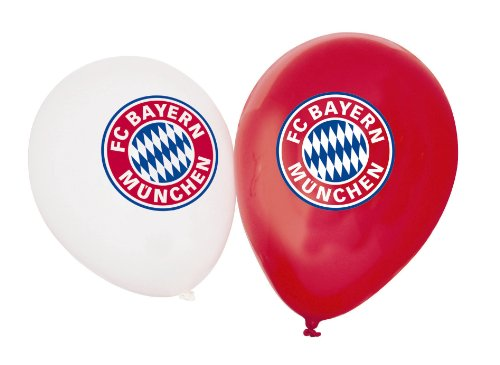 FC Bayern München Luftballons 10-er Set