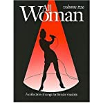 all woman collection v 2 piano vocal guitar all woman paperback common