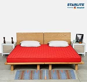 Sleepwell Starlite Mega Extra Firm Bonded Foam Mattress (72*48*4)