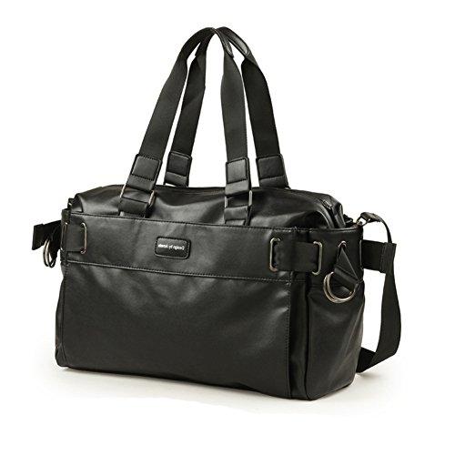Koreanische Version des aktuellen männlichen Pakets/PULedertasche/Geschleudert Taschen/Outdoor-Freizeit-Umhängetaschen/Messenger Taschen für Herren/Studentenpaket-A A