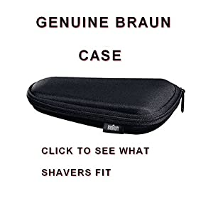 Braun Shaver Storage and Travel Case for Series 5 Flex Motion Tec & Cooltec shavers. Click next page to see models that will fit.YOU MUST HAVE ONE OF THE TYPE NUMBERS MENTIONED. DO NOT RELY ON YOUR MODEL ALONE