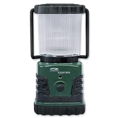 Litexpress Camp 200 grün/schwarz, Camping-Laterne, 3 Hochleistungs-LED bis zu 300 Lumen, Kunststoffgehäuse, Leistungsangabe nach ANSI-Standard von LiteXpress bei Lampenhans.de