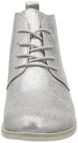 Marco Tozzi 25128, Bottes Chukka Grises Pour Femmes (métal Grey.)
