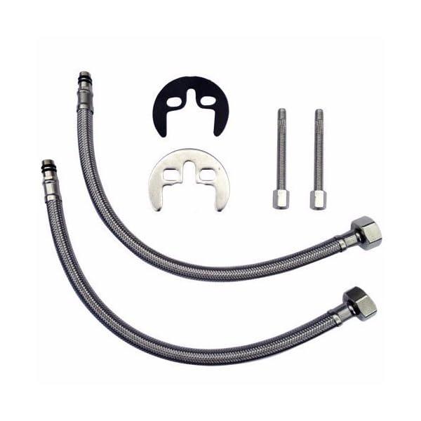 """VeeBath Derby Mono Basin Mixer with Sprung Plug Waste /& 1//2/"""" BSP Fitting"""