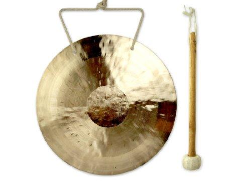 Feng Gong / Wind Gong 30 cm, toller Klang, inklusiv Holz-/ Filzklöppel