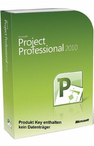 Microsoft Project 2010 Professional Vollversion deutsch 1PC (ohne Datenträger) (Microsoft Project 2010 Software)