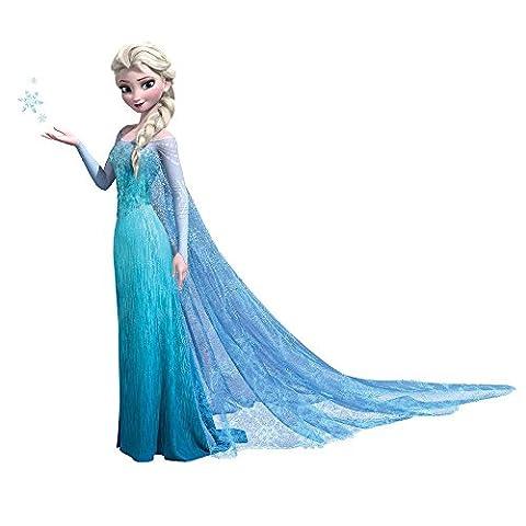 RoomMates RMK2371GM RM - Disney Frozen Elsa Glitzernd Wandtattoo, PVC, Bunt, 48 x 13 x 2.5 cm