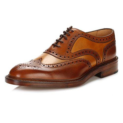 loake-uomo-cognac-mahogany-funnelweb-brogue-scarpe-uk-7