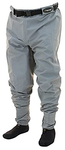 Frogg Toggs 2717126-MD Hellbender Ii Stockingfoot Breathable Guide Pant, Slate
