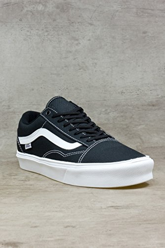 Vans-Old-Skool-Zapatillas-Unisex-Adulto-Negro-BlackWhite-Vn-44-EU