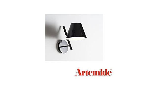 Artemide la petite lampada da parete led w applique nero amazon