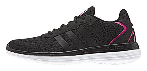 adidas - Cloudfoam Speed W, Scarpe sportive Donna Nero/bianco/rosa (Negbas/Negbas/Ftwbla)