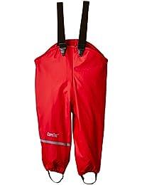 CareTec Pantalones Impermeable Unisex Niños, Rojo (Red), 86