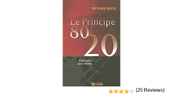 GRATUIT TÉLÉCHARGER 80/20 BIEN PDF LE VIVRE PRINCIPE