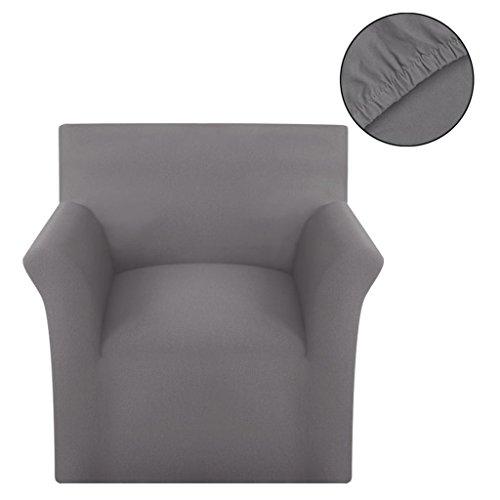 vidaXL Sofahusse Jersey Universal Stretchhussen Sesselbezug Sitzbezug Husse