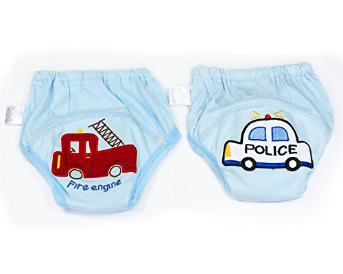 BONAMART BONAMART 2 Stück Baby Junge Mädchen Kids Trainerhosen Unterwäsche 80 90 95 100 cm, 2 Einheiten Blau, 80CM