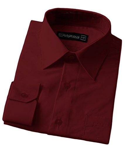 The Gorgeous 1 - Camisa - para niño rojo granate S
